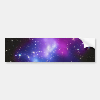 Massive Galaxy Cluster MACS J0717 Bumper Sticker
