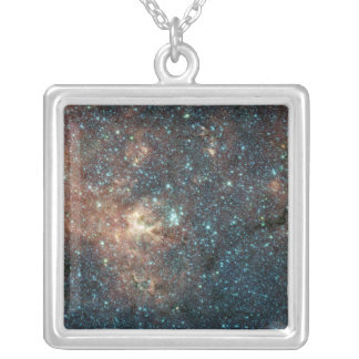 Massive Star Cluster Silver Plated Necklace