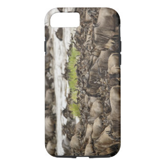 Massive Wildebeest herd during migration, iPhone 8/7 Case