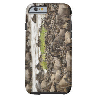 Massive Wildebeest herd during migration, Tough iPhone 6 Case