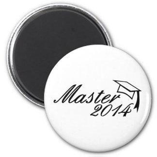 Master 2014 6 cm round magnet