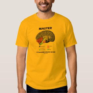 Master At Tracking Caloric Intake (Brain Attitude) Shirt