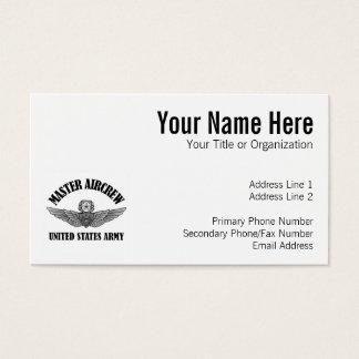 Master Aviation Badge Business Card