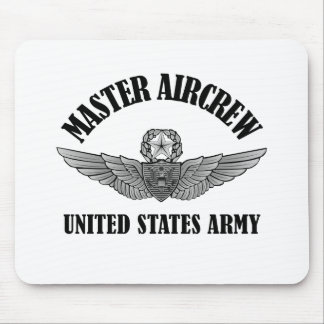 Master Aviation Badge Mouse Pad