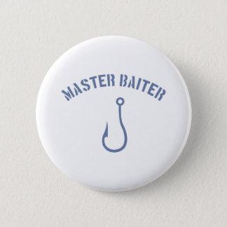 Master Baiter #4 6 Cm Round Badge