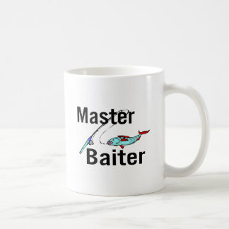 Master Baiter Fishing Basic White Mug