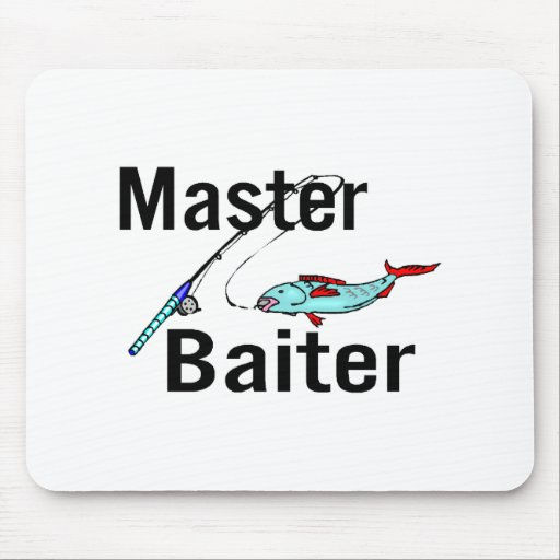 Master Baiter Mouse Pads