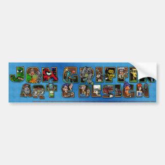 Master Banner-blue Bumper Sticker