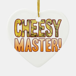 Master Blue Cheesy Christmas Ornament