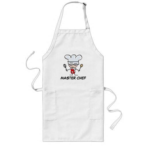 Master chef aprons