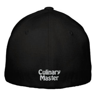 Master Chef Embroidered Cap