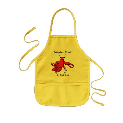 Master Chef , (in Training) Childs Apron