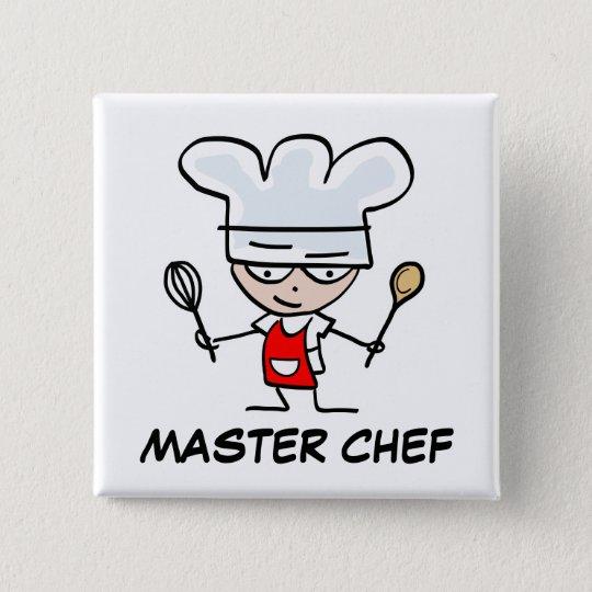 Master chef pinback button