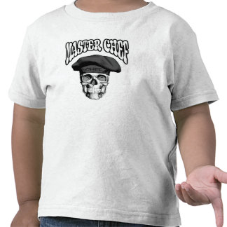 Master Chef Skull v3 Tee Shirts