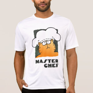 Master Chef Tshirt Man| Funny Cooking Cat Tee