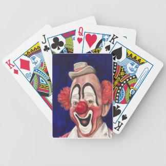 Master Clown Lou Jacobs Poker Deck