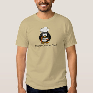 Master Cookout Chef - T-shirt