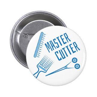 Master Cutter 6 Cm Round Badge