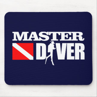 Master Diver 2 Mouse Pad