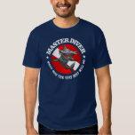 Master Diver (Hammerhead) Apparel Tshirts