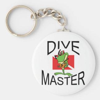 Master Diver SCUBA Key Ring