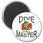 Master Diver SCUBA Refrigerator Magnet