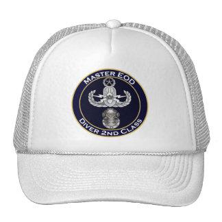Master EOD 2nd Class Diver Trucker Hat