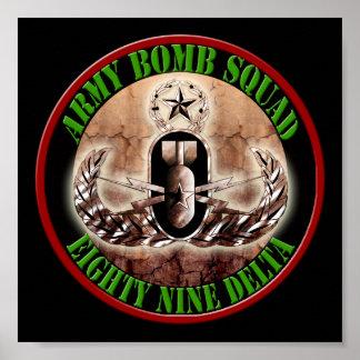 Master EOD Bomb Squad #001 Poster