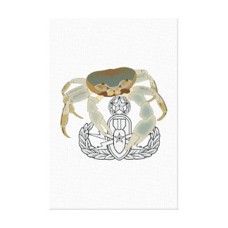 Master EOD Crab Gallery Wrapped Canvas
