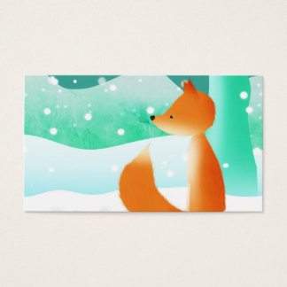Master Fox - business cards