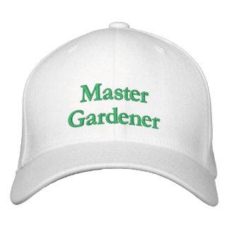 Master Gardener Embroidered Baseball Caps