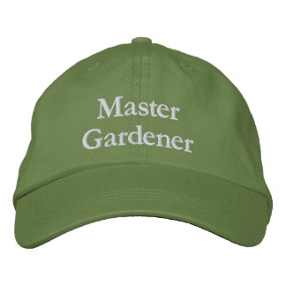 Master Gardener Embroidered Hat