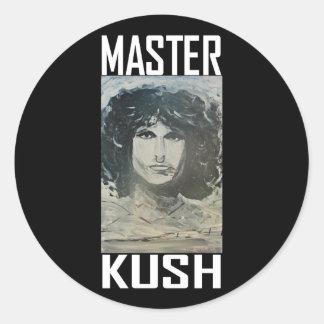MASTER KUSH ROUND STICKER