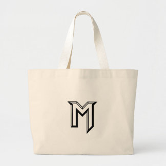 Master M Logo Large Tote Bag