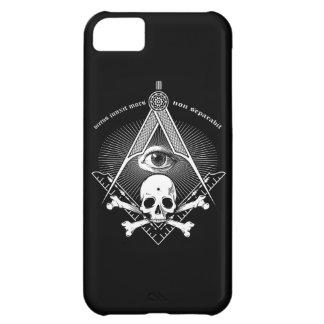 Master Mason iphone case skull