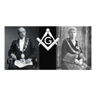 Master Masons Photo Greeting Card