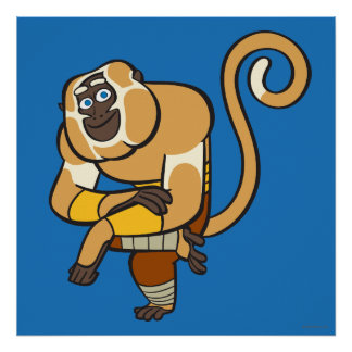 Master Monkey Poster