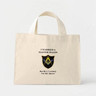 Master my butt mini tote bag