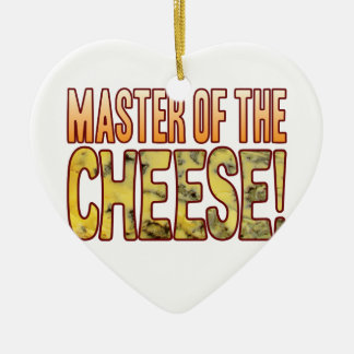 Master Of Blue Cheese Ceramic Heart Decoration