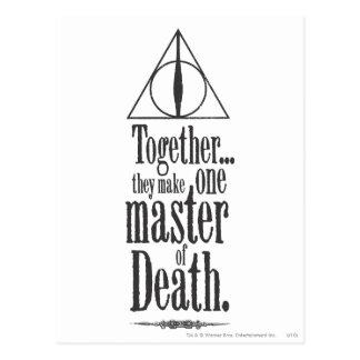 Master of Death Postcard