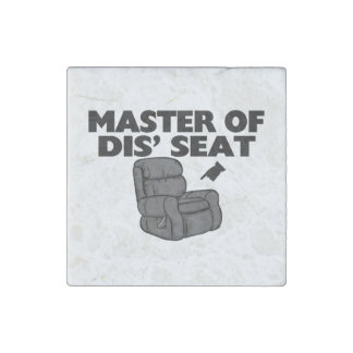 Master Of Dis' Seat Recliner Stone Magnet