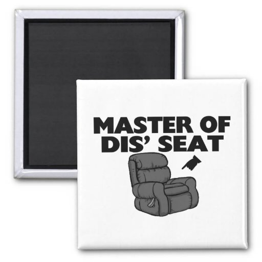 Master Of Dis' Seat Recliner Magnets