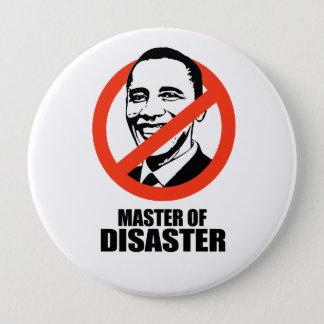 Master of Disaster 10 Cm Round Badge