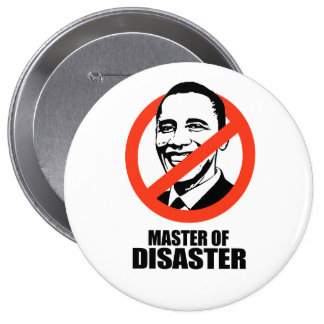 Master of Disaster 10 Cm Round Badge