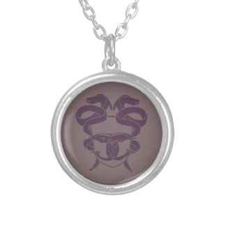 Master Of Laketown Symbol Silver Plated Necklace
