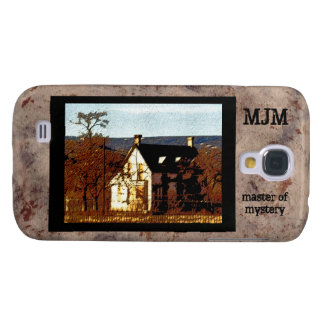 Master of Mystery Monogram Haunted House Galaxy S4 Case