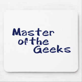 Master of the geeks mouse pad