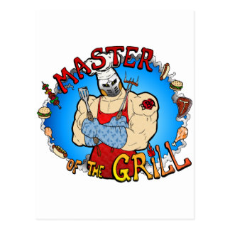 Master of the Grill Post Cards