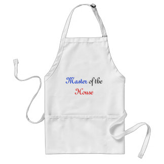 Master of the House Standard Apron