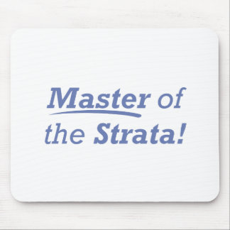 Master of the Strata! Mouse Pad